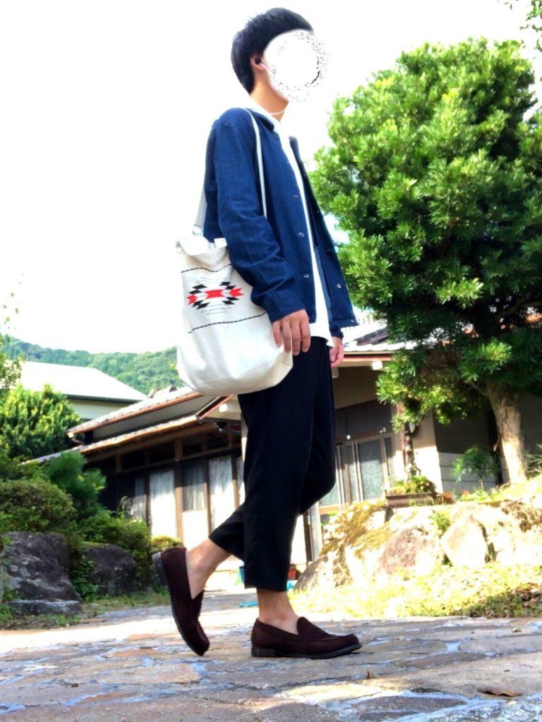 GUのローファーファッション