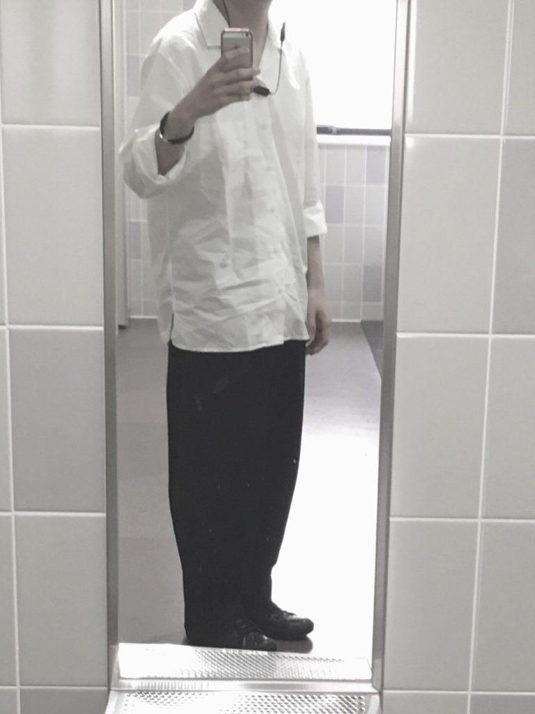 コンバースレザーファッション1