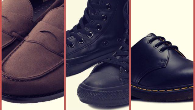 大学生高校生向け靴