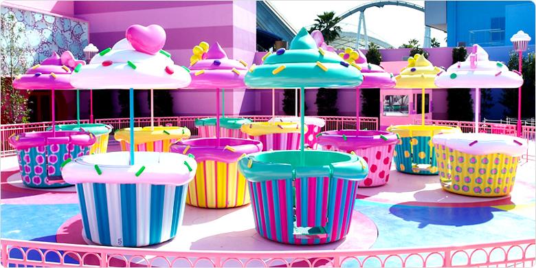 ハローキティのケーキカップ画像