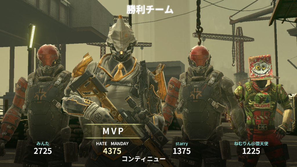 MVP表示画面