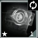 グレード1のバイザー(リロード速度)