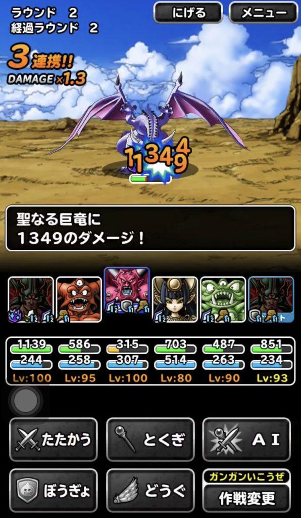 竜神王の試練『聖なる巨竜』9
