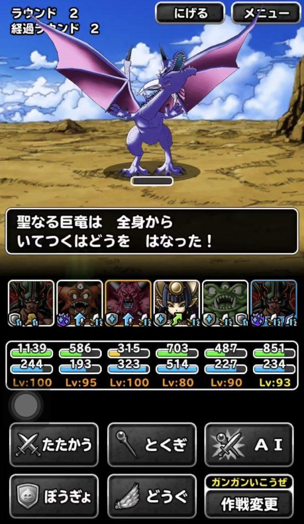 竜神王の試練『聖なる巨竜』13