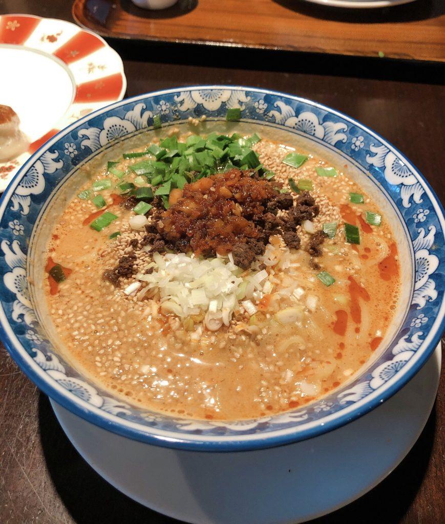 梅梅の白坦々麺