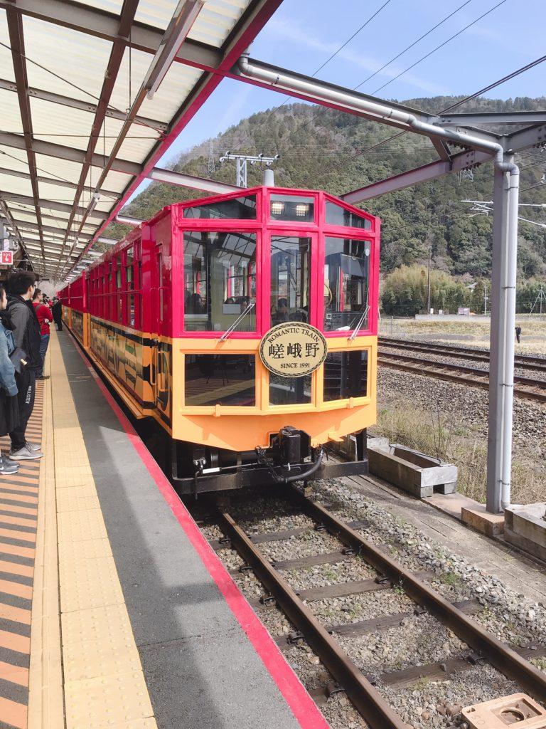 トロッコ列車1