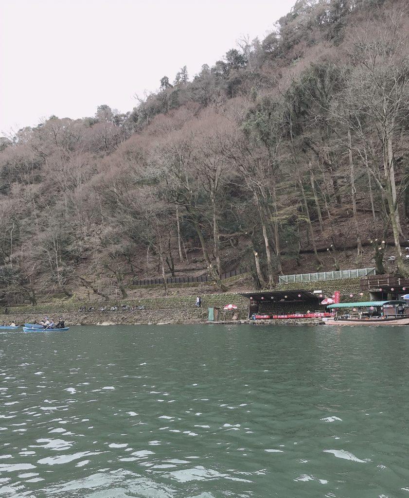 嵐山のボート1