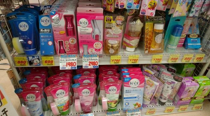 市販の脱毛クリームの特徴