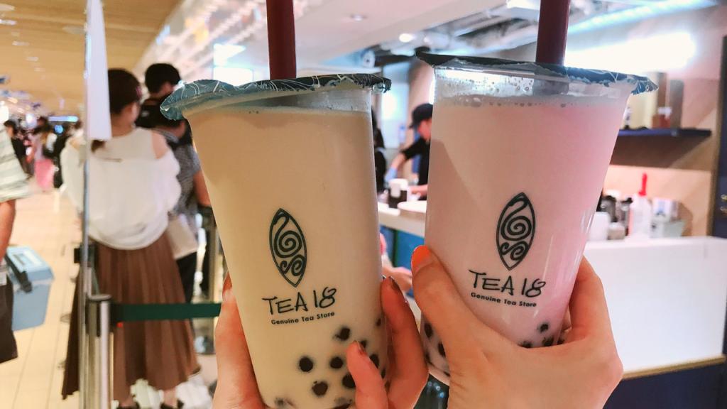 TEA18大阪店でタピオカを食べた感想