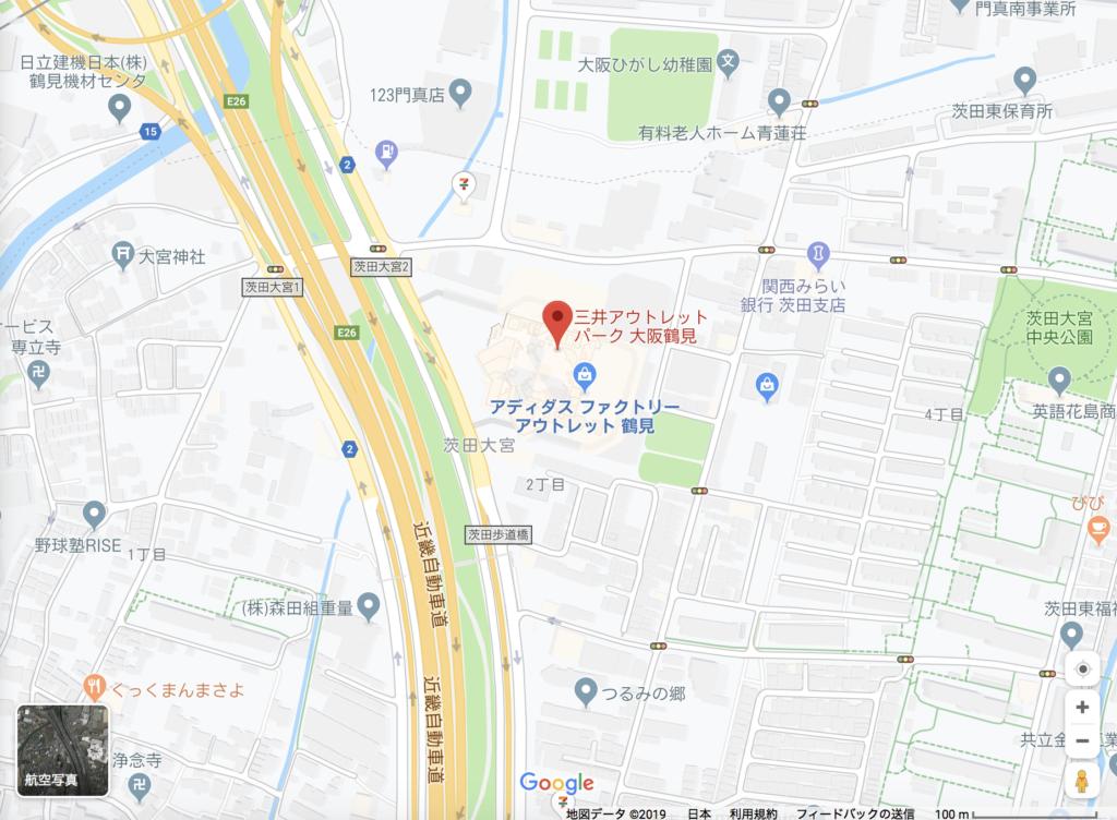 大阪 生タピオカ専門店101(ワンオーワン)の場所3