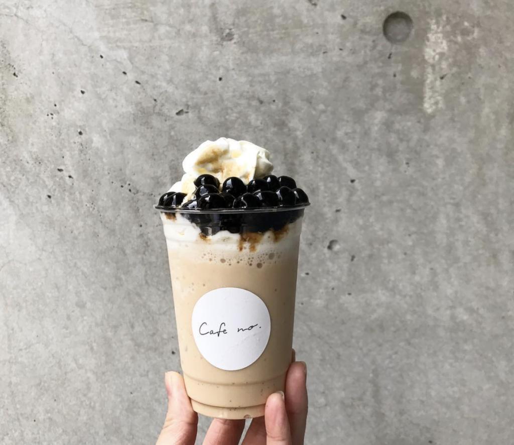 cafe no.(カフェナンバー)のタピオカの特徴