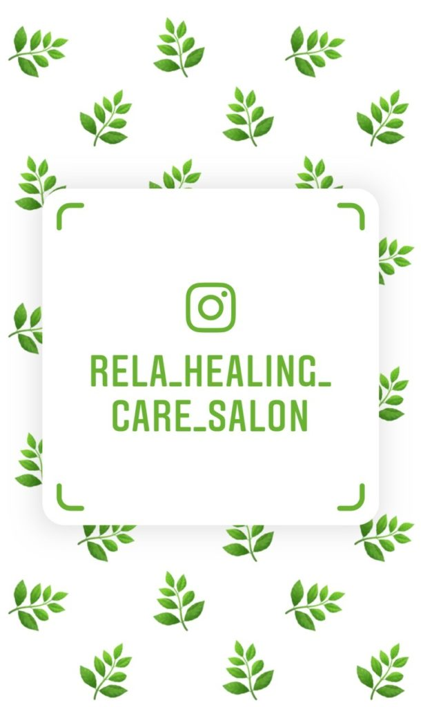 インスタ-@rela_healing_care_salon