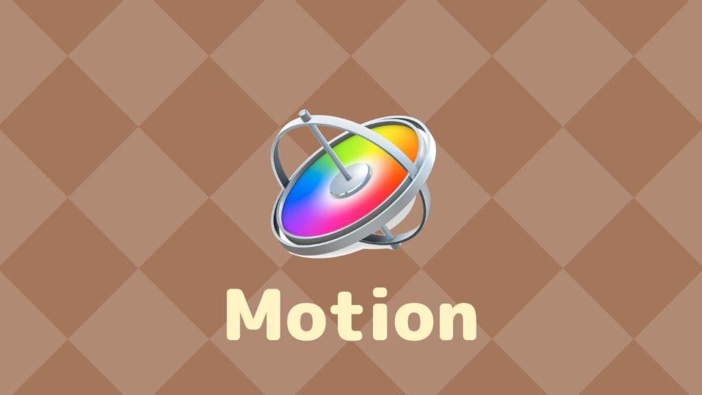 Motionを使えばMyエフェクト・トランジションが作れる