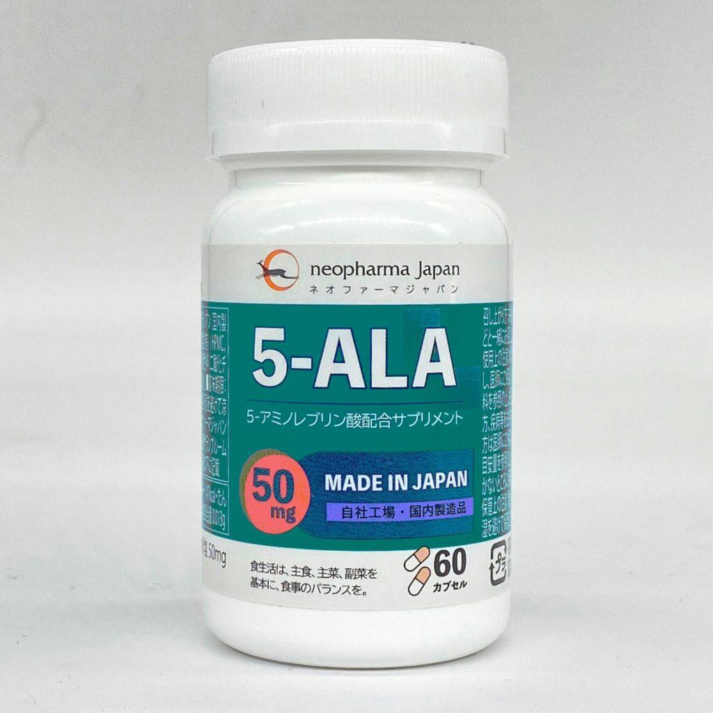 ネオファーマジャパン株式会社の5-ALAサプリ