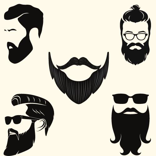 髭のデザインは難しい